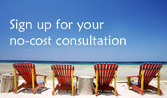 sign up for your no cost consultation